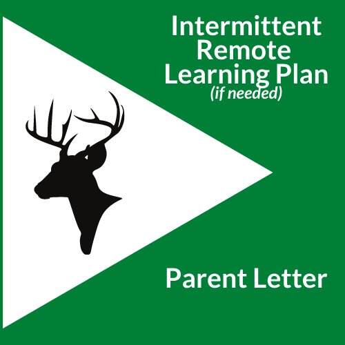 Parent Letter- Intermittent Remote Learning Plan (if needed)
