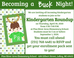 Kindergarten Registration Now Open for 2020-2021!