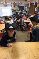 Kindergarten Explores with Virtual Reality!