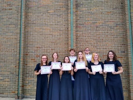 Pine River Choir Competes at the MSVMA District One Solo and Ensemble Festival