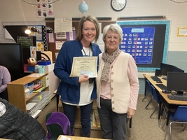 Grant Awarded to Mrs. Johnson