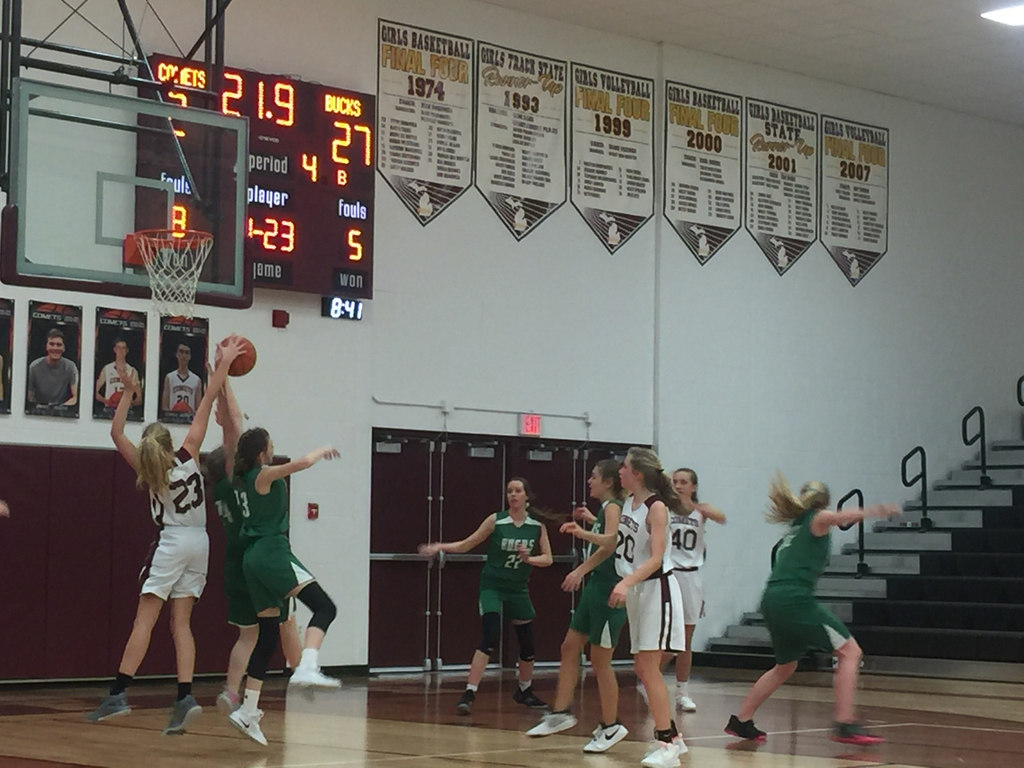 8th grade girls vs NMC